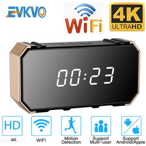 Clock Camera Mini Dvr Digital Night-Vision Infrared Wireless Alarm-Monitoring 1080P/4K