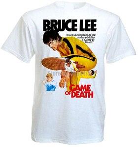 Игра смерти Брюса Ли постер фильма Мужская анархия футболка пожарного Гека футболки ЛГБТ футболка крутые вещи Akrrxx