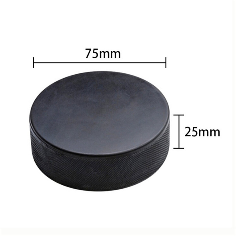 Practice Bulk Sports Puck Balls Winter Sporting Rubber Ice Hockey Black Pucks Official Size Game Safe Unique