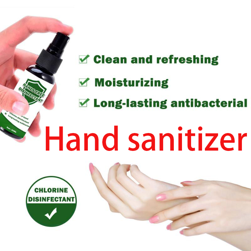 Wholesale Travel Portable Hand Sanitizer Gel Antibacterial Waterless Moisturizing Liquid Disposable No Clean Disinfectant Spray