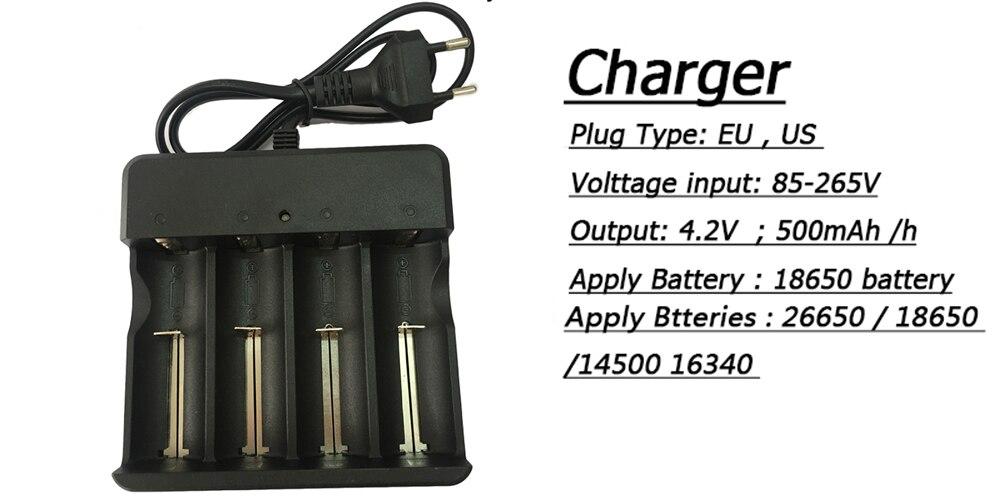 brightwaterproof ipx8 subaquática 80m energia 3 pçs 18650 bateria