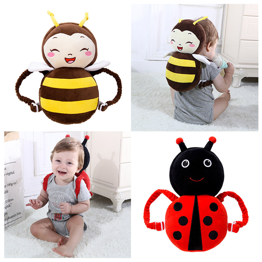 PPXX 2019 Cartoon Baby Infant Pillow Newborn Baby First Walker Head Protection Sleep Pad Pillow Safety Cushion Baby Backpacks