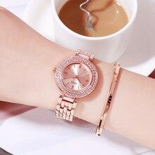 цена на Fashion Casual Women Watches 2019 Luxury Ladies Quartz Watch Waterproof Female Wristwatch Gift Clock Relogio Feminino Reloj Muje