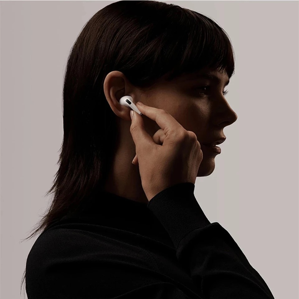 2021 APPLE AirPods Pro Wireless Bluetooth Earphone Air Pods 3 Active Noise Cancellation with Charging Case Quick Charging 6