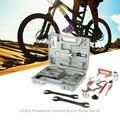 14 в 1 Многофункциональный велик велосипед инструменты для ремонта велосипеда набор + Freewheel и b. B. Чашечный ключ + отвертка + спица регулятор