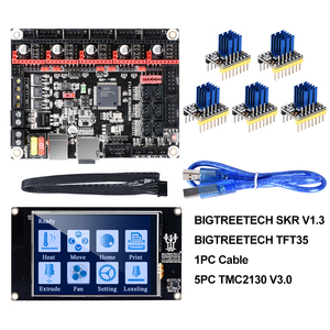 Image 1 - หน้าจอ: BIGTREETECH SKR V1.3 Smoothieboard 32Bit TFT35 V2.0 BLtouch TMC2130 SPI TMC2208 UART 3D ชิ้นส่วนเครื่องพิมพ์ VS MKS GEN L TMC2209