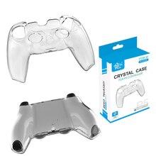 Coque de protection en plastique transparente pour contrôleur PS5, étui rigide en cristal