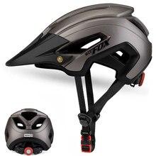 BATFOX для мужчин и женщин велосипедный шлем шоссейный велосипедный шлем MTB In-mold велосипедный шлем 56-62 см Защитная крышка