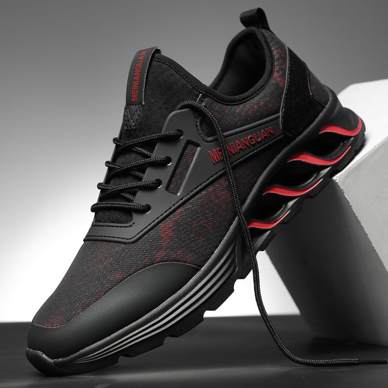 Sneakers Fashion Outdoor Mens Color High Quality Brand Bandage Breathable Running Shoes Mesh Soft Letters Tennis Mens Shoes