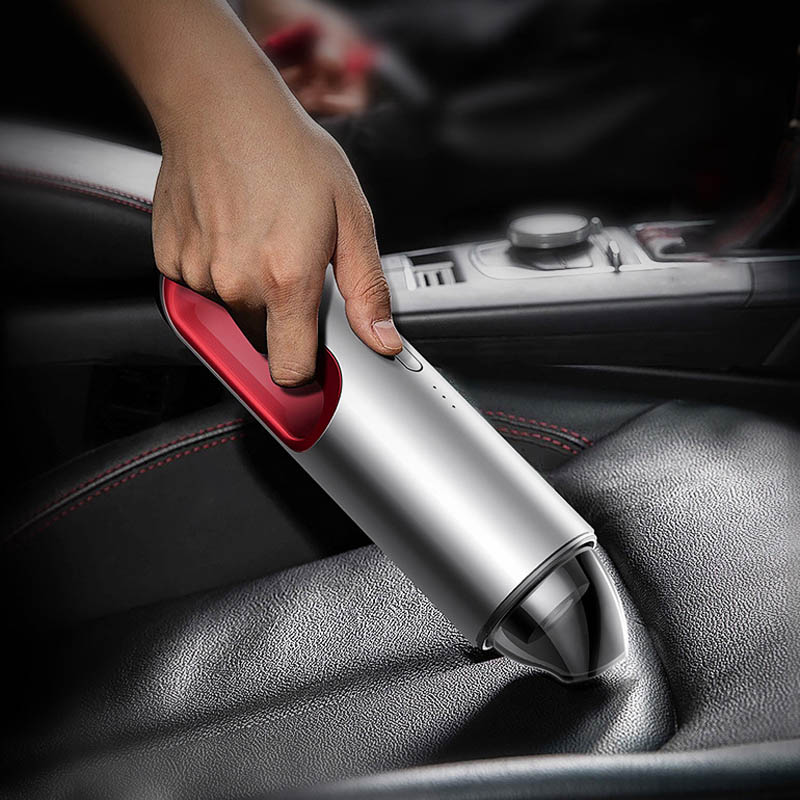 Handheld Car Vacuum Cleaner Porable Aspirator Dust Collector For Car Home Vacuum Cleaner 5200Pa Auto Wireless Aspirador