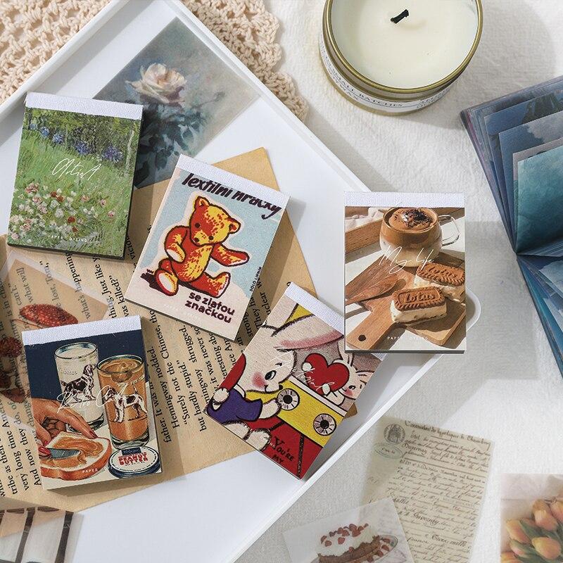 100 шт./упак. Kawaii Washi набор бумажных наклеек японские картины растения Diy Искусство ремесло клейкие стикеры s декоративные этикетки для дневника