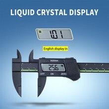 Calibres eletrônicos da precisão do abs vernier de digitas 0-150mm micrômetro pachômetro woodworking gadget medição de profundidade