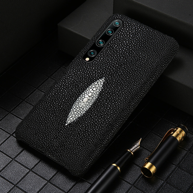 Луксозен оригинален кожен калъф за перла Gourami за Xiaomi Mi 10 9 SE 9T 9Lite CC9 CC9E Заден капак за Redmi 7A Note 7 8 Pro 8T