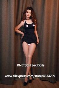 Image 5 - Японские силиконовые секс куклы KNETSCH 165 см для мужчин, полноразмерные реалистичные куклы для секса груди, влагалища, Реалистичная Анальная киска, куклы для орального секса