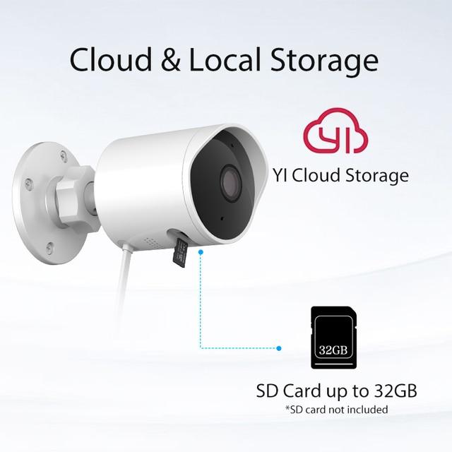 YI Outdoor Camera surveillance camera IP-65 Water-Resistant Housing Cam Night Vision Human Detection Security Camera 3