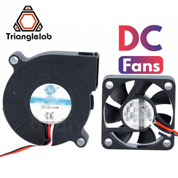 TriangleLAB 3 wires DC fans sets for Prusa i3 MK3 MK3S MK2/2.5 3D printer mellow all metal nf crazy hotend v6 copper nozzle for ender 3 cr10 prusa i3 mk3s alfawise titan bmg extruder 3d printer parts