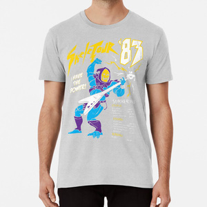 Скелетор '83 футболка он человек скелетор он человек мастер Вселенная хеман рок ролл гитара