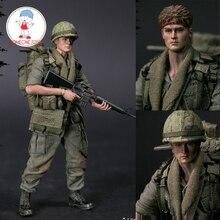 """DAMTOYS סכר 1/12 PES004 ארה""""ב צבא חייל בווייטנאם 25th חי""""ר חטיבה צבאי פרטי פעולה איור אוסף"""