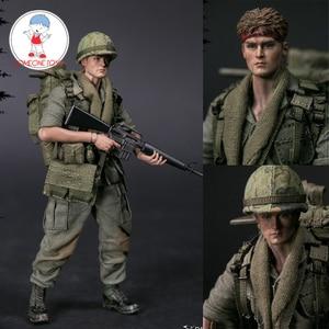 Image 1 - مجموعة شخصيات قتالية خاصة لجنود الجيش الأمريكي في فيتنام من DAMTOYS DAM 1/12 PES004 25th