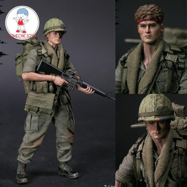 مجموعة شخصيات قتالية خاصة لجنود الجيش الأمريكي في فيتنام من DAMTOYS DAM 1/12 PES004 25th