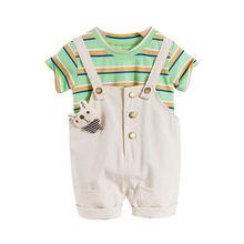 Летние Детские комплекты одежды для отдыха мальчиков и девочек