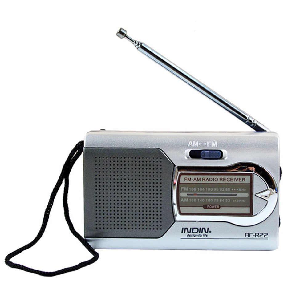 Speaker Radio Draagbare Digitale Fm Am Digitale Mini Met Lcd-scherm Stereo Radio Luidspreker Pocket MP3 Muziekspeler Ouderen