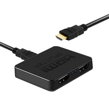 Hdmi Splitter 1 in 2 Out-Ultra Hd 4K 4 Port Hdmi Adapter for Fire Stick/Apple Tv/Fire Tv/Roku Tv/Ps4 Pro/ One X/Wii U(China)
