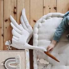Хлопчатобумажная линия настенный Лебедь Плюшевая Кукла Детская