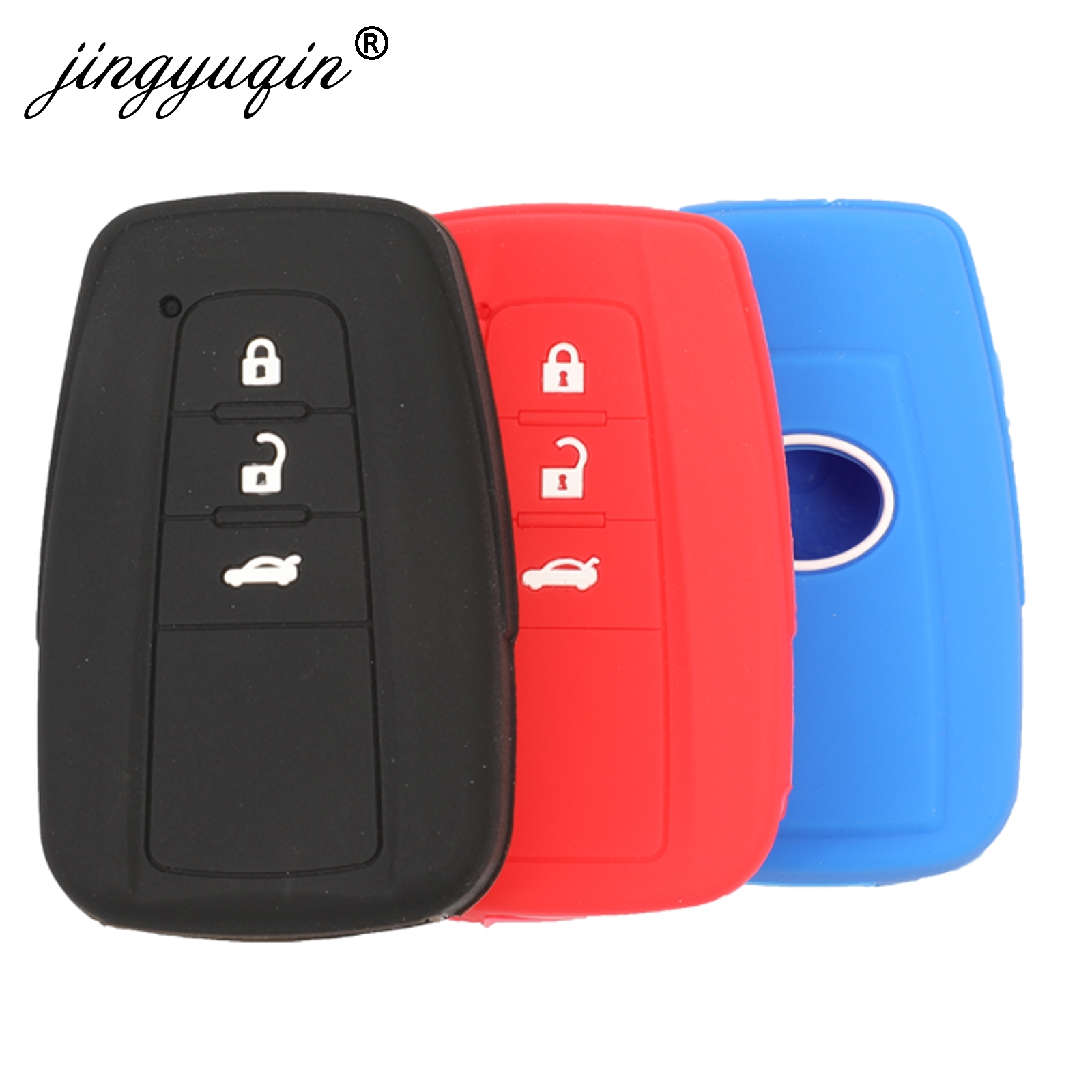 Silicone Key Case Fob For Tesla Model X Keyless Remote Key Cover Shell Skin Sleeve Protector 2016-2018 2019