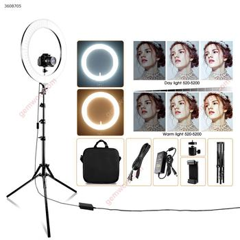 18-Inch Selfie studio light Ring Light With Tripod Holder Phone Mounts photography lighting with stand