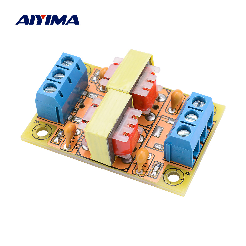AIYIMA Stereo Audio Isolator Anti-interference Signal Noise Filter Computer Current Acoustic Eliminator DIY Speaker Amplifier
