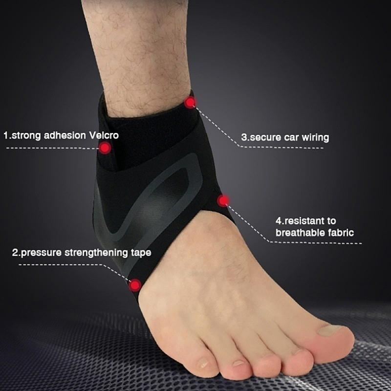 Sport Ankle Support Ankle Brace Support Ankle Sleeve Fitness Sport Safety Prevention Elastic High Protect Sports
