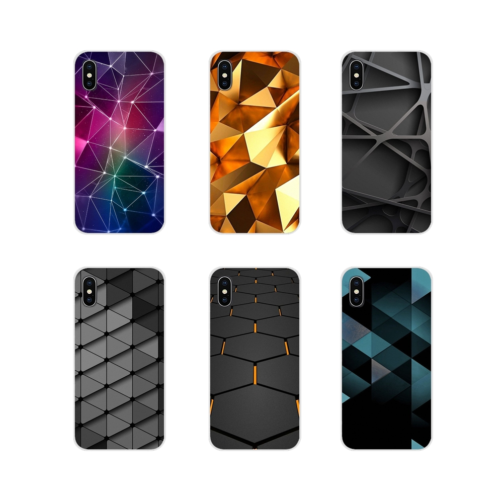 Accessories Phone Shell Covers For Apple iPhone X XR XS 11Pro MAX 4S 5S 5C SE 6S 7 8 Plus ipod touch 5 6 Geometric Wallpaper image