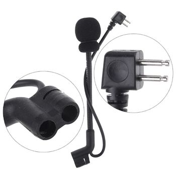 Z-Tactical Microphone MIC for ComtacII H50 Noise Reduction Walkie Talkie Headset XXUC