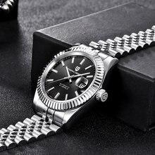 Pagani дизайнерские механические мужские часы Топ бренд нержавеющая