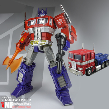 TAKARA TOMY Original Transformers MP10 Optimus Prime MP-10 Autobot Car Trucks Model Deformation Robot Toy Collectibles 1