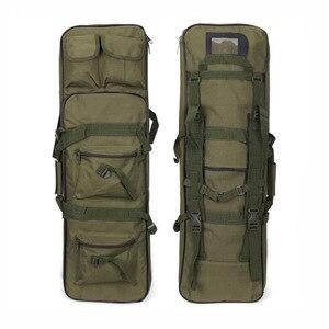 Image 5 - Bolsa de transporte de arma airsoft rifle tático, bolsa militar pesada acessórios de armas, protetor de arma sniper 81 94 118 cm