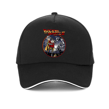 Back to the Future baseball cap Men/women Classic Movie Series Cotton Mens hat Personality Creative Novelty