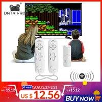 Беспроводная USB консоль DATA FROG, встроенная 620 Классическая игровая консоль, поддержка ТВ-выхода, две ручные геймпады