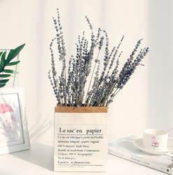 Лавандовый букет из сушеных цветов натуральное растение оптовая продажа вечная жизнь цветы Push Подарочная подставка под фото украшение