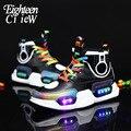 Светящиеся кроссовки для мальчиков  новинка 2019  детская обувь с подсветкой  USB зарядка  обувь с подсветкой  светящиеся кроссовки для девочек ...
