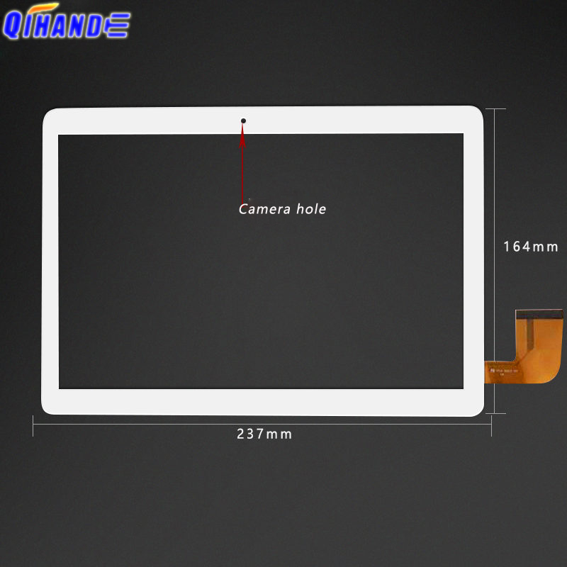New Touch <font><b>Screen</b></font> For 10.1 inch <font><b>Teclast</b></font> A10H Quad Core Tablet PC TouchScreen Capacitance <font><b>Screen</b></font> Digitizer Panel <font><b>A10S</b></font> image