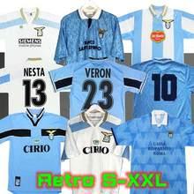 Lazio Retro 1989 1990 1991 1992 1999 2000 2001 Camisas De Futebol NEDVED SIMEONE SAL