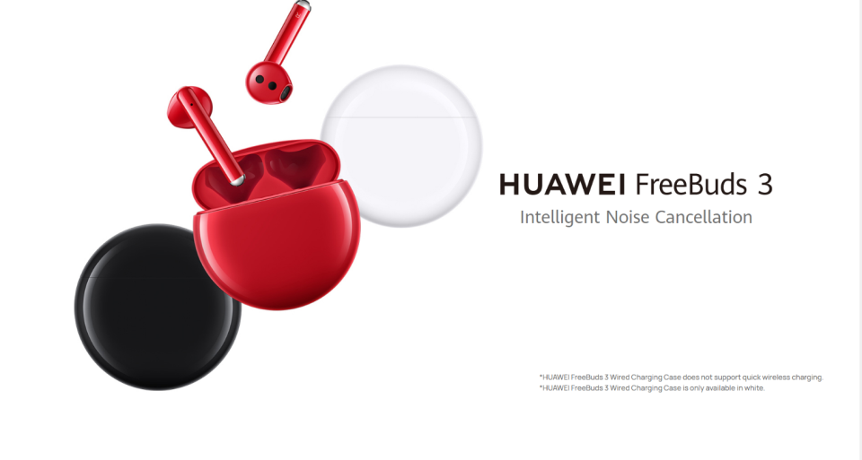 Global huawei freebuds 3 tws fones de