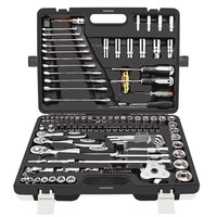 121pc Sets Of Auto Repair Hardware Socket Wrench Multi functional Repair And Maintenance Combination Ratchet Wrench Tool Kit
