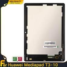 Lcd para huawei mediapad mediapad t3 10 AGS-L03 AGS-L09 AGS-W09 t3 display lcd tela de toque digitador assembléia para mediapad t3 10