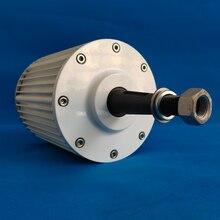 Os alternadores permanentes gearless da c.a. do gerador do ímã da baixa velocidade 1kw 5kw 10kw 24v 48v 220v usam para a turbina de água da turbina eólica