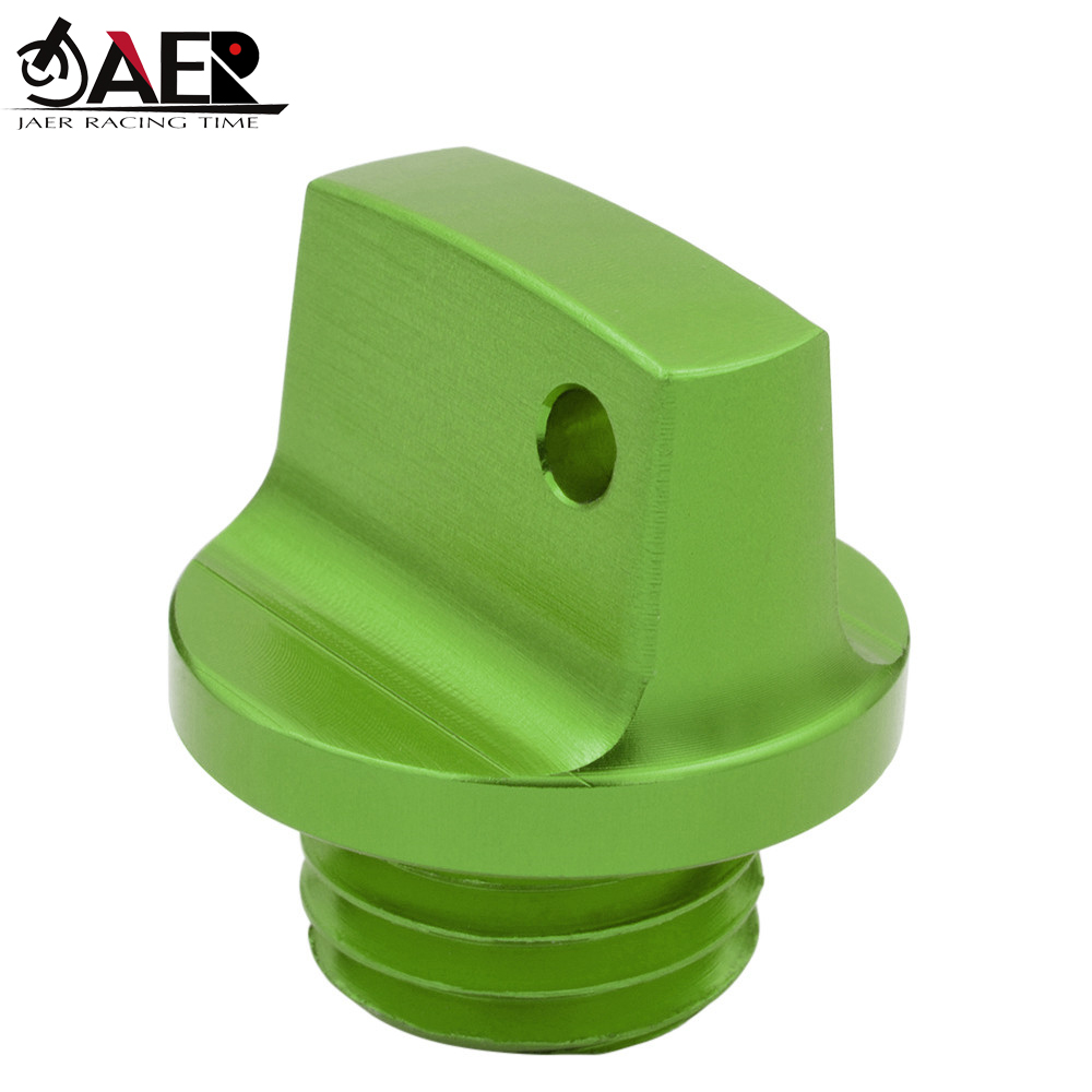 JAER M20*2.5 Engine <font><b>Oil</b></font> Plug Filler Cover Screw for Kawasaki Z800 Z650 Z900 Z1000 Z1000SX ER6N <font><b>Ninja</b></font> <font><b>400</b></font> 250 SL VN650 image