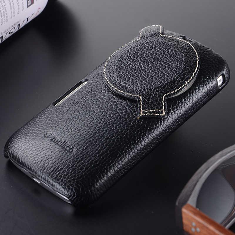 2020 nouvelle housse de téléphone arrière en cuir véritable pour Samsung Galaxy K Zoom véritable peau de vache sacs de poche d'affaires pour Galaxy S5 Zoom