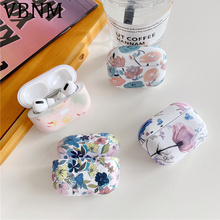 Earpods Case For Apple Airpods Pro Luxury Flower Marble Cover For Apple Airpods
